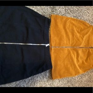 Zip Up Skirts